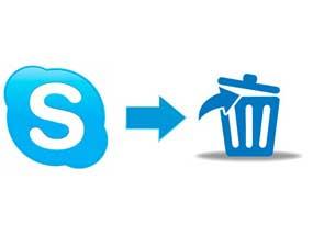 Как удалить аккаунт в  скайпе полностью
