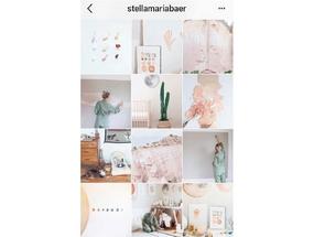 Как в Instagram поменять фото местами